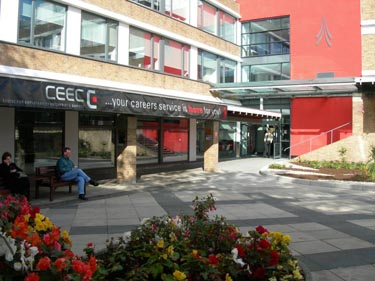 Lancaster University's Centre for Enterprise, Employability and Careers (CEEC).