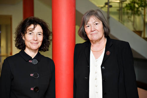 Professor Sylvia Walby, UNESCO Chair in Gender Research with Clare Short