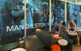 The audio-visual installation entitled Manchester:Peripheral