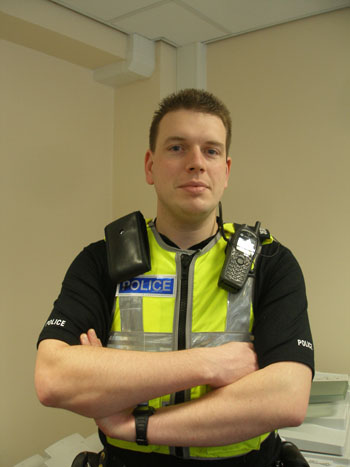Community beat manager PC Gary Wynne