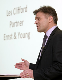 Les Clifford of Ernst & Young
