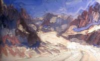 George Rowlett: Mer de Glace (courtesy Art Space Gallery, London)