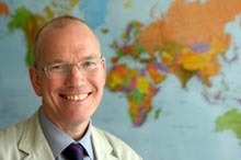 Professor David Clark, Director of the International Observatory on End of Life Care