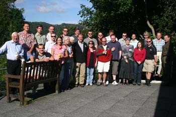 Scientists at the conference in Ambleside