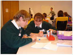 Pupils during National Science and Engineering Week