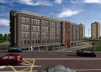 Rochdale Sixth Form College (artist's impression)